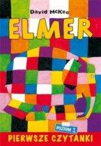 Pierwsze czytanki Elmer słoń w kratkę poziom 1