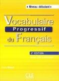 Vocabulaire progressif du français Niveau débutant Książka + CD 2. edycja