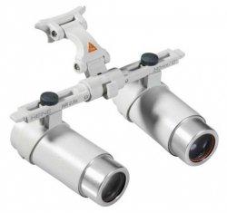 Lupa Okularowa Heine HRP z Systemem i-View do Ramki S-Frame, Część Optyczna w Walizeczce - Różne Rodzaje