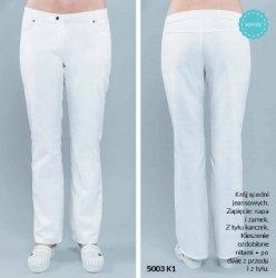 Spodnie Damskie 5003 - Różne Rodzaje