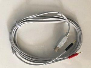 Przewód do Elektrod do BTL Smart/Premium Jasnoszary Nowego Typu z Wejściem USB
