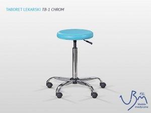 Taboret Leakrski TB1-Chrom