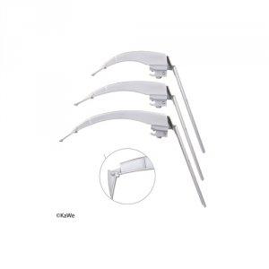 Łyżka Laryngoskopowa Światłowodowa KaWe FLAPLIGHT F.O. MEGALIGHT - Różne Rodzaje
