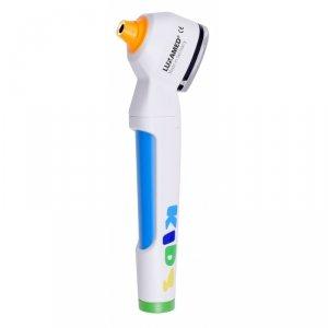 Otoskop dla Pediatry LUXASCOPE AURIS LED-RING-Zasilanie Bateryjne