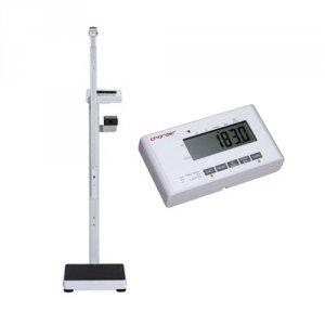 Elektroniczna Waga Medyczna Charder MS 4900 z Funkcją BMI + Wzrostomierz Teleskopowy (klasy III)