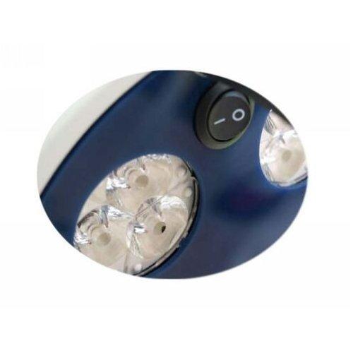 Lampa Zabiegowo-Diagnostyczna L21-25TD LED Bezcieniowa, Sufitowa - Dwuczaszowa