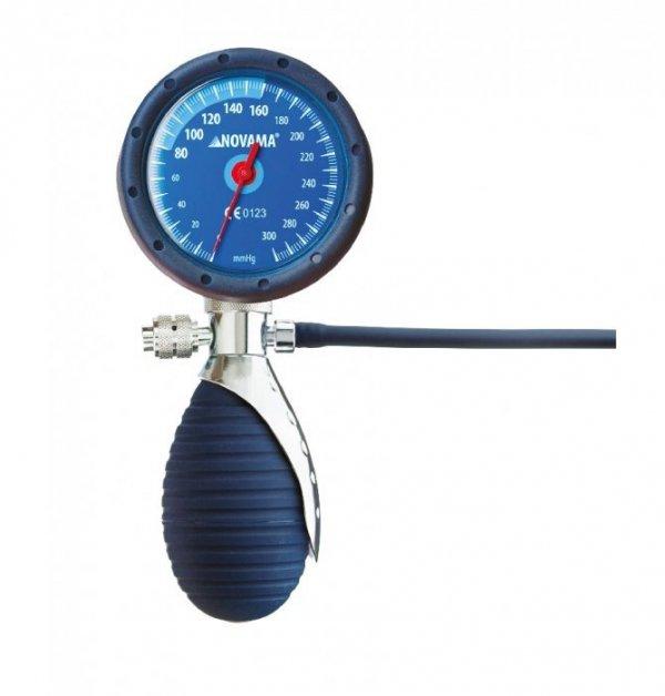 Zintegrowany Ciśnieniomierz Zegarowy Typ Palm NOVAMA PROseries DURA