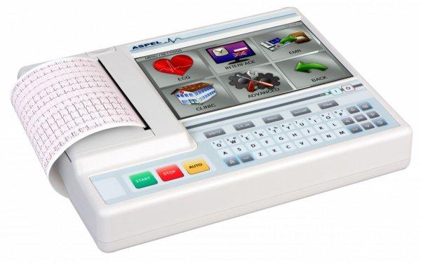 Aparat EKG Ascard Grey v.07.205