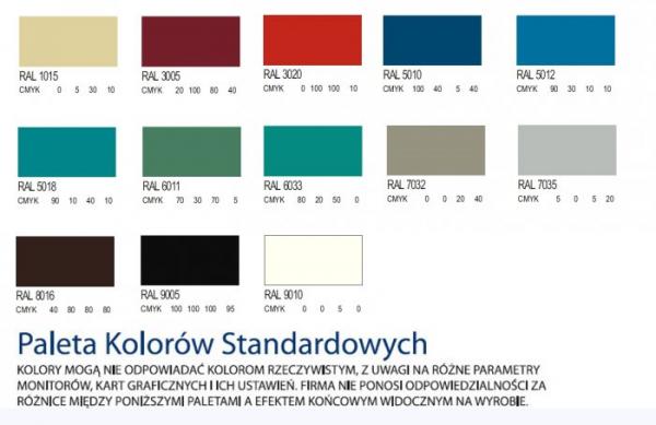 Szafa Kartotekowa Pięcioszufladowa Dwurzędowa Szk318 - Różne Rodzaje i Kolory