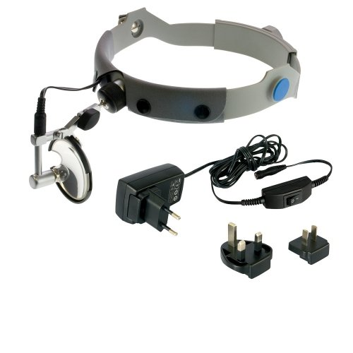 Lampa Czołowa Clar KaWe z Lusterkiem 55 mm Zasilanie Sieciowe lub Bateryjne - Różne Rodzaje