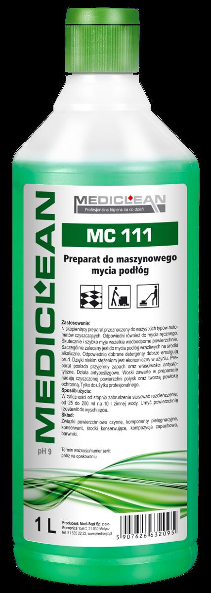 Preparat do Maszynowego Mycia Podłóg MC-111 - Różne Pojemności 1l, 5l