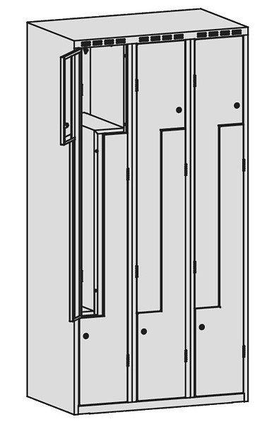 Szafa Ubraniowa Sul 43 Sześciodrzwiowa Szerokość Modułu 40cm - Różne Rodzaje i Kolory