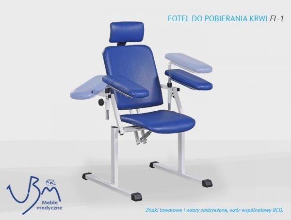 Fotel do Pobierania Krwi FL-1