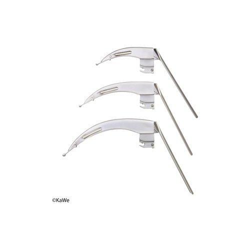 Łyżka Laryngoskopowa Światłowodowy KaWe FLAPLIGHT F.O. - Różne Rodzaje