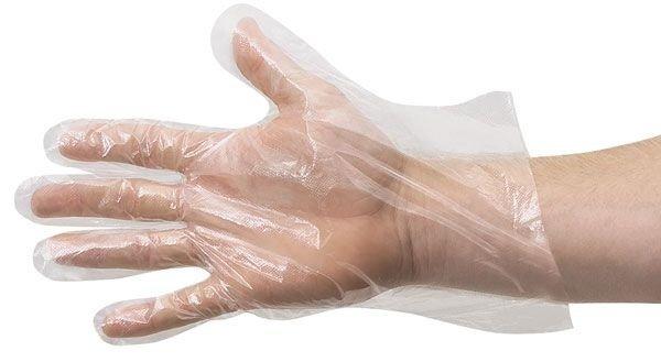 Rękawice Foliowe op. 100szt.