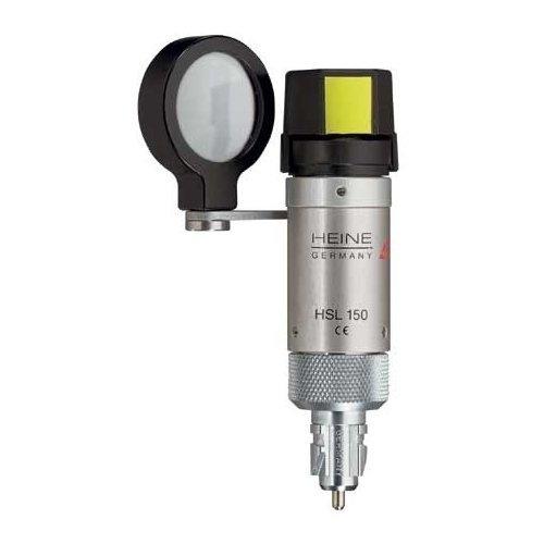 Lampa Szczelinowa Ręczna Heine BETA HSL 150, Główka Optyczna - Różne Rodzaje