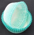 Papilotki - foremki do mufinek zielone  35 mm 100 szt.