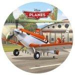 Modecor - opłatek na tort okrągły Samoloty D