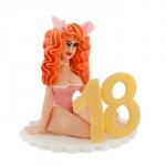 Hokus - Króliczek 18-tka Dekoracja tortu