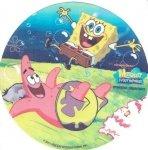 Kardasis - opłatek na tort okrągły Spongebob