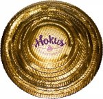 Podkład tortowy tacka z tektury złota śr. 30 cm