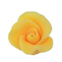 Róża mała 22 szt. żółty