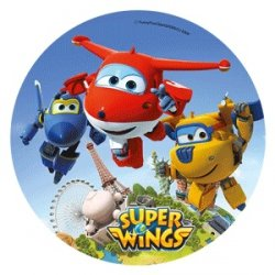 Modecor - opłatek na tort Super Wings D