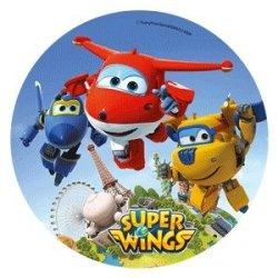 Modecor - opłatek na tort Super Wings D