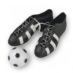 Zestaw piłkarski - buty + piłka - 1 szt