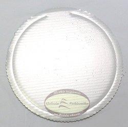 Podkład tortowy tacka z tektury perłowa śr. 30 cm