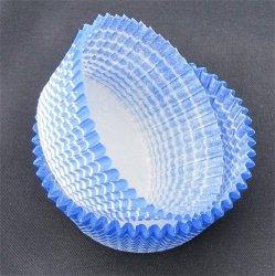 Papilotki - foremki do mufinek niebieskie 45 mm 100 szt.