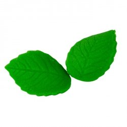 Listki cukrowe zielone duże 8 x 20 szt.