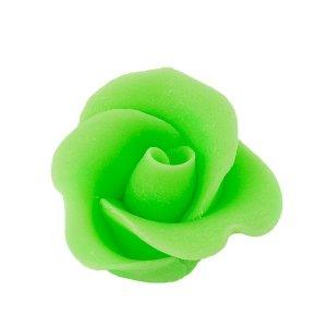 Róża mała 22 szt. pistacjowa