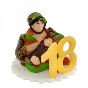 Hokus - Żołnierz 18 Boy Dekoracja tortu