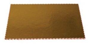 Podkład tortowy gruby karbowany 30 x 40 cm