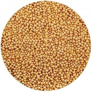 Posypka cukrowa - Maczek złoty - świecący 50 g