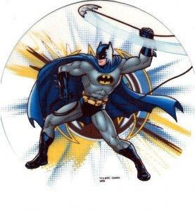 Kardasis - opłatek na tort okrągły Batman