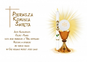 Hokus - opłatek na tort komunijny Hostia 12 szt.