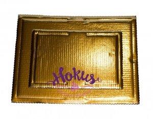Podkład tortowy tacka z tektury złota 40 x 60 cm
