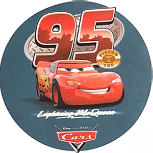 Kardasis - opłatek na tort okrągły The Cars - Auta