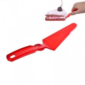 Łopatka/nóż do ciasta - czerwona