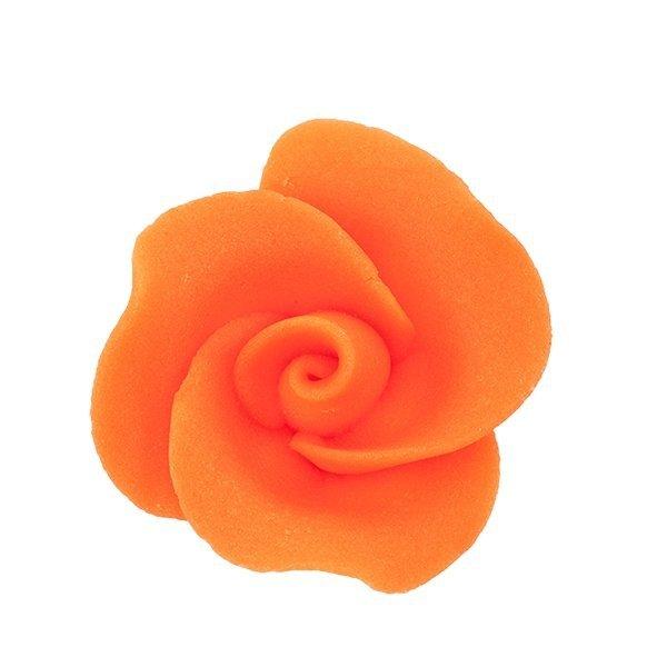 Róża mała 22 szt. pomorańczowa