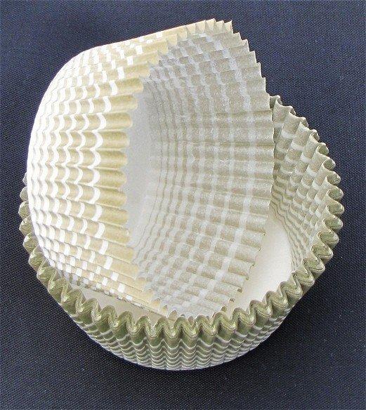 Papilotki - foremki do mufinek oliwkowe 35 mm 2000 szt.