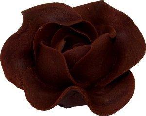 Róża Max 6 szt. czekoladowa