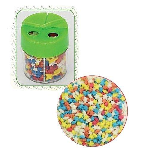 Posypka dekoracyjna confetti gwiazdki kolorowe 360g