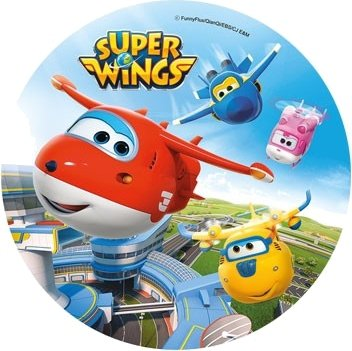 Modecor - opłatek na tort Super Wings B