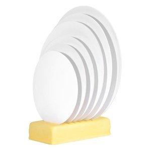 Modecor - Podkład okrągły pod tort fi 32 cm biały