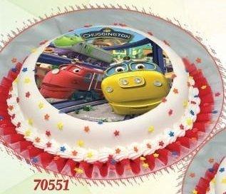 Kardasis - opłatek na tort okrągły Stacyjkowo 551