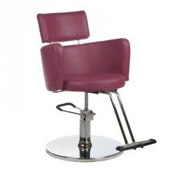 Fotel Fryzjerski Luigi BR-3927 Wrzos BS