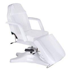 Fotel kosmetyczny hydrauliczny BD-8222 Biały BS